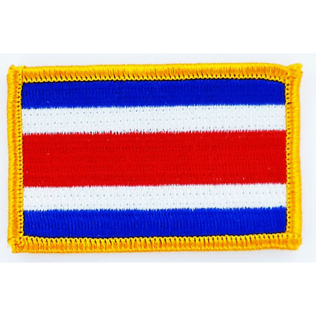 img-PATCH ECUSSON BRODE DRAPEAU COSTA RICA INSIGNE THERMOCOLLANT NEUF FLAG PATCHE