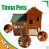 NEW STOCK Rabbit Guinea Pig Ferret Coop House Hutch Run Cage P003
