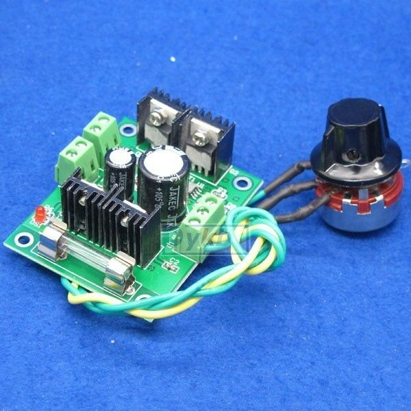 20a 12v 36v 480w dc motor speed control regulator led for 36v dc motor controller