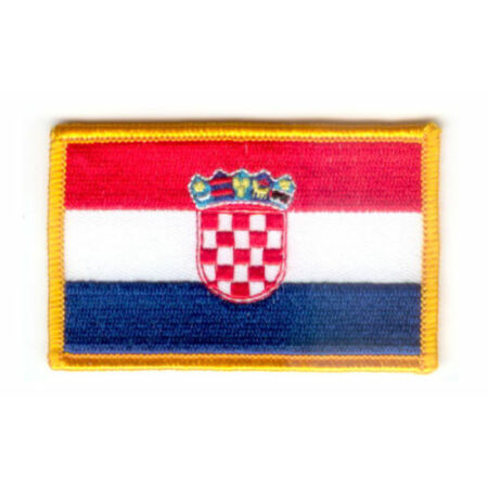 img-PATCH ECUSSON BRODE DRAPEAU CROATIE INSIGNE THERMOCOLLANT NEUF FLAG PATCHE