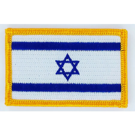 img-PATCH ECUSSON BRODE DRAPEAU ISRAEL INSIGNE THERMOCOLLANT NEUF FLAG PATCHE