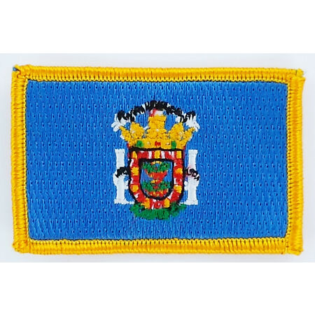 img-PATCH ECUSSON BRODE DRAPEAU MELILLA INSIGNE THERMOCOLLANT NEUF FLAG PATCHE