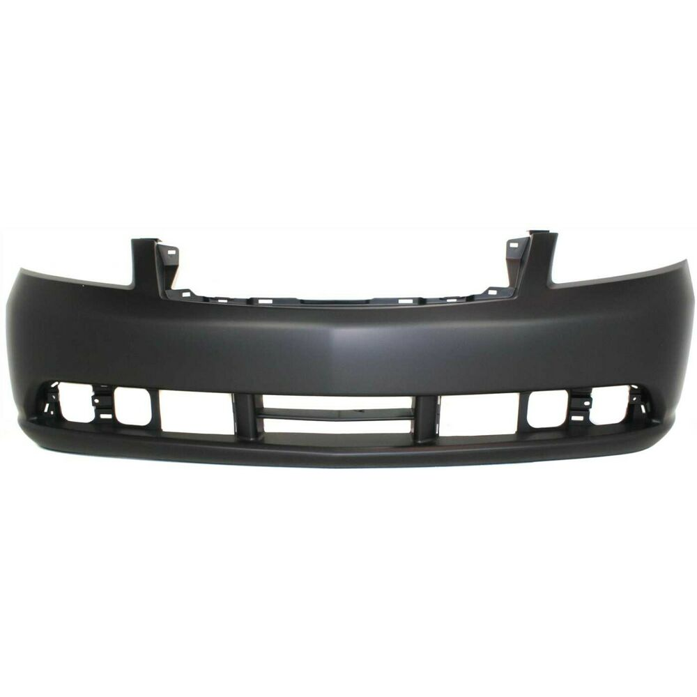 Front Bumper Cover For 2006 2007 Infiniti M35 W Fog Lamp
