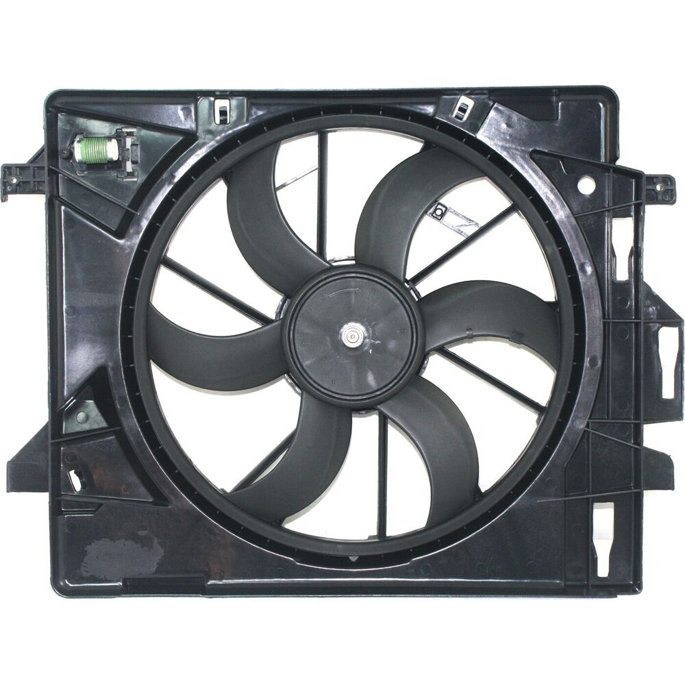 Chrysler Town And Country 2008 For Sale: Radiator Cooling Fan For 2008-2016 Dodge Grand Caravan