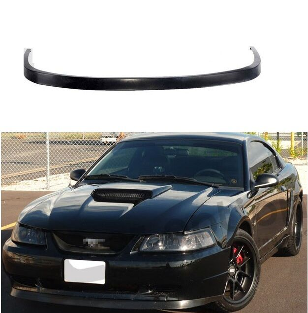 99 Ford Mustang: 99-04 FORD MUSTANG OE STYLE PU BLACK URETHANE FRONT CHIN