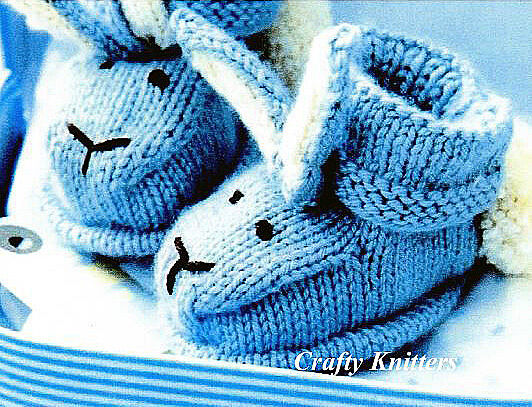 Free Knitting Patterns Baby Mittens And Booties : Prem Baby Booties Knitting Pattern Free