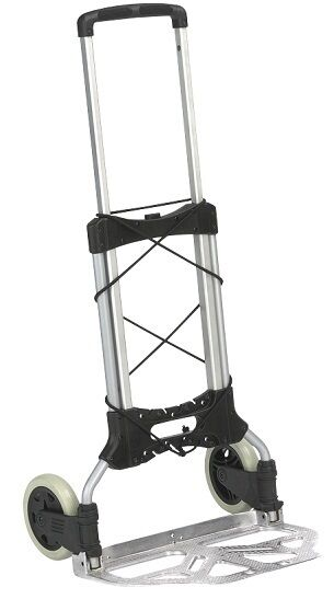 wesco maxi mover folding hand truck 220649 ebay. Black Bedroom Furniture Sets. Home Design Ideas