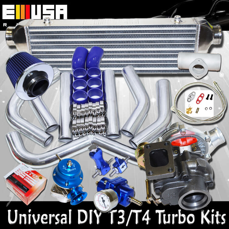 Turbo Kit Ge8: DIY Universal Turbo Kits T3/T4 W Internal Wastegate
