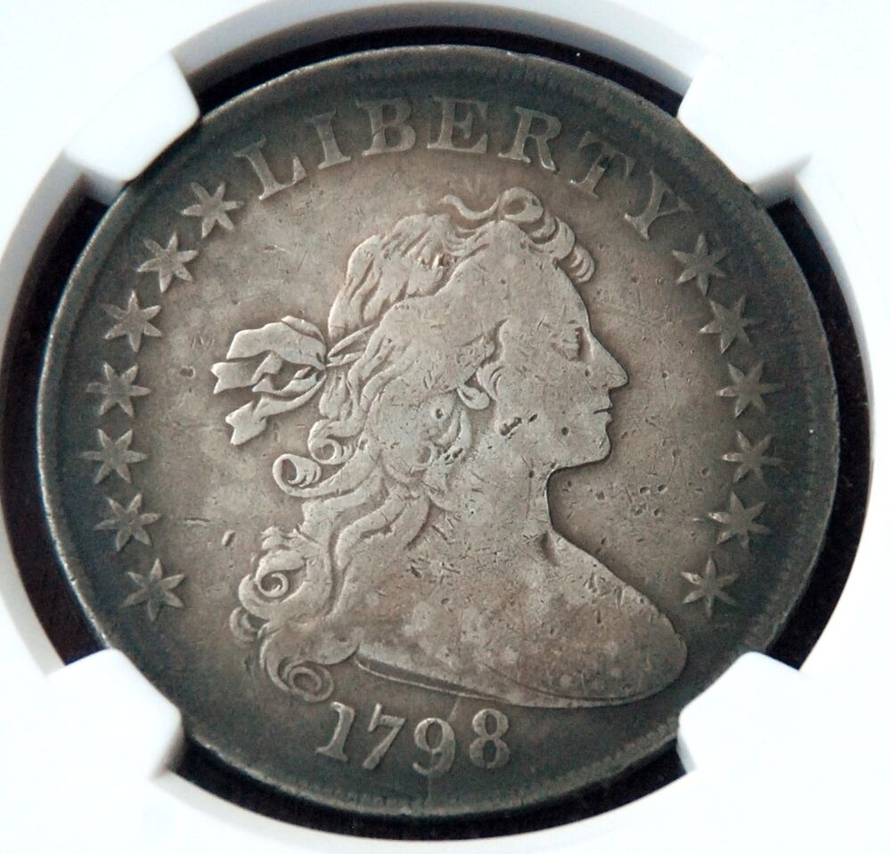 1 1798 Lady Liberty Large Eagle Silver Dollar Jefferson