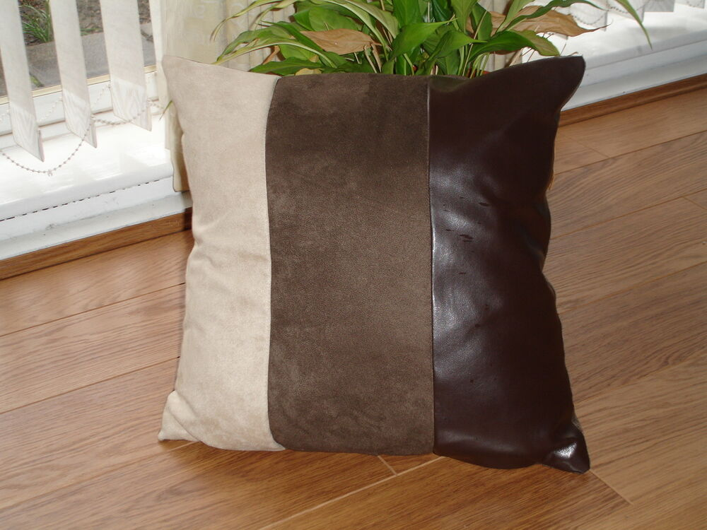 Super Soft Faux Suede Cushion Covers Ebay