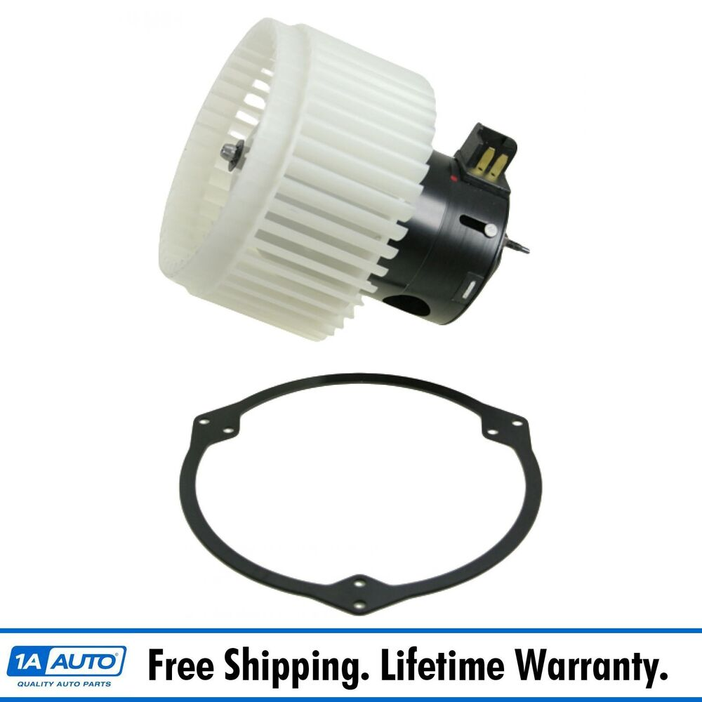 Heater a c ac blower motor w fan cage new for cobalt hhr for Car ac blower motor