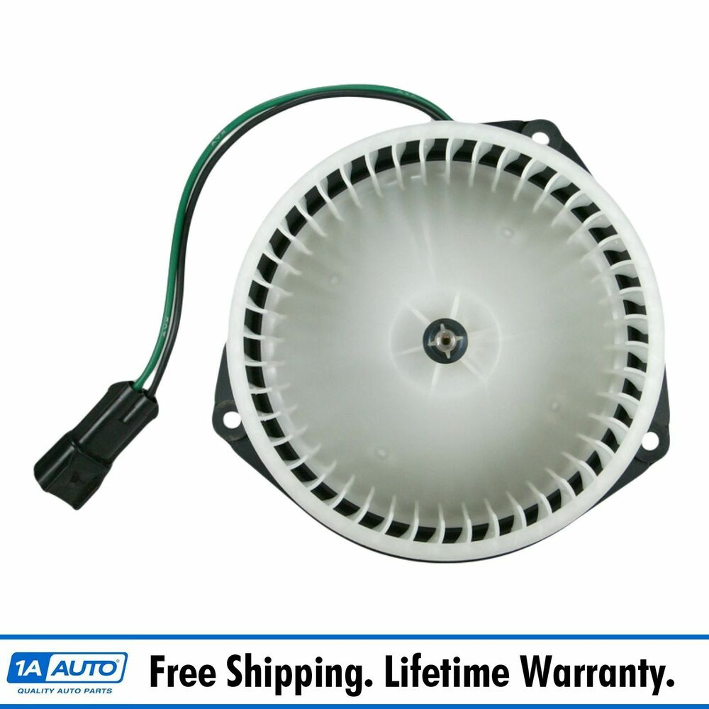Heater Blower Motor W Cage New For Jeep Cherokee Comanche