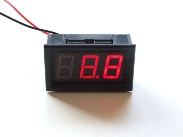12v 24v VOLTMETER BATTERY CHARGING INDICATOR WIRING