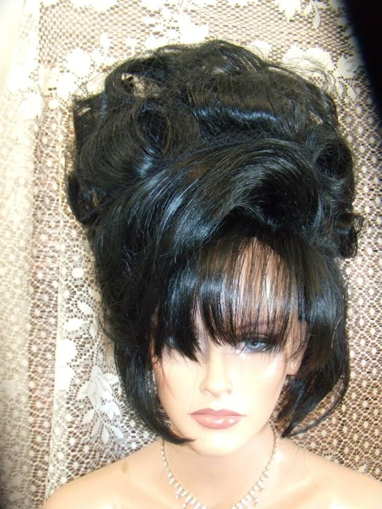 Halloween Special Vegas Girl Wigs Up Do 1 Of A Kind Curls
