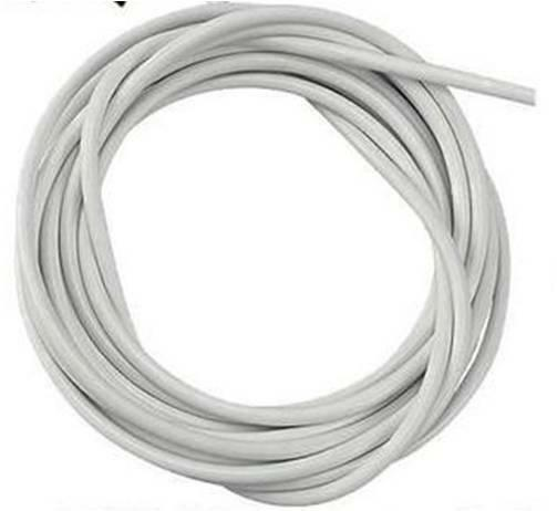 30m White Window Net Curtain Wire 100ft Hanging Cord Cable