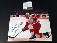 Brett Hull Red Wings Signed Auto 8x10 PHOTO PSA/DNA