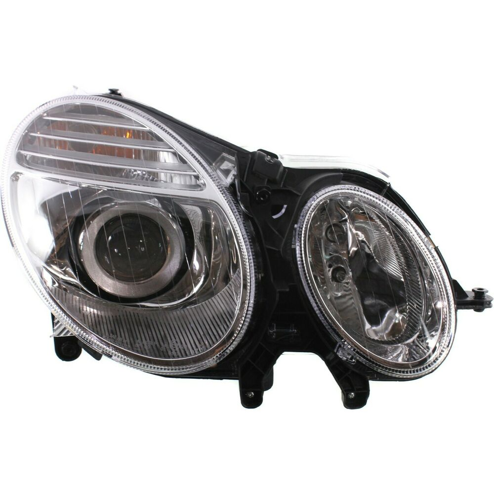 Headlight for 2007 2009 mercedes benz e350 e550 passenger for Mercedes benz headlight bulb