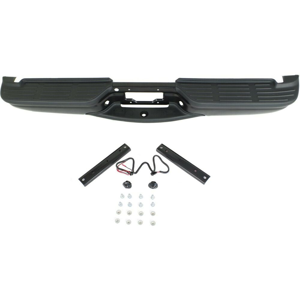 Ford F 350 Super Duty Carpet Replacement 99 07: Step Bumper For 99-07 Ford F-250/350 Super Duty Black