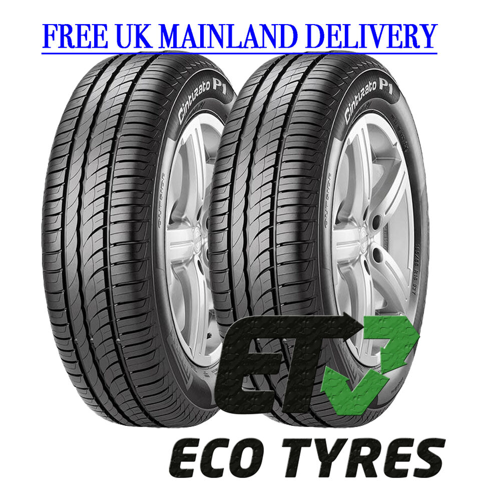 2x tyres 205 55 r16 91h pirelli p1 verde b b 70db ebay. Black Bedroom Furniture Sets. Home Design Ideas