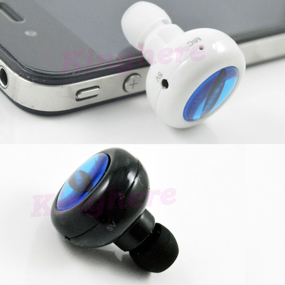 mini stereo bluetooth headset headphones for iphone samsung galaxy s3 s4 tablet ebay. Black Bedroom Furniture Sets. Home Design Ideas