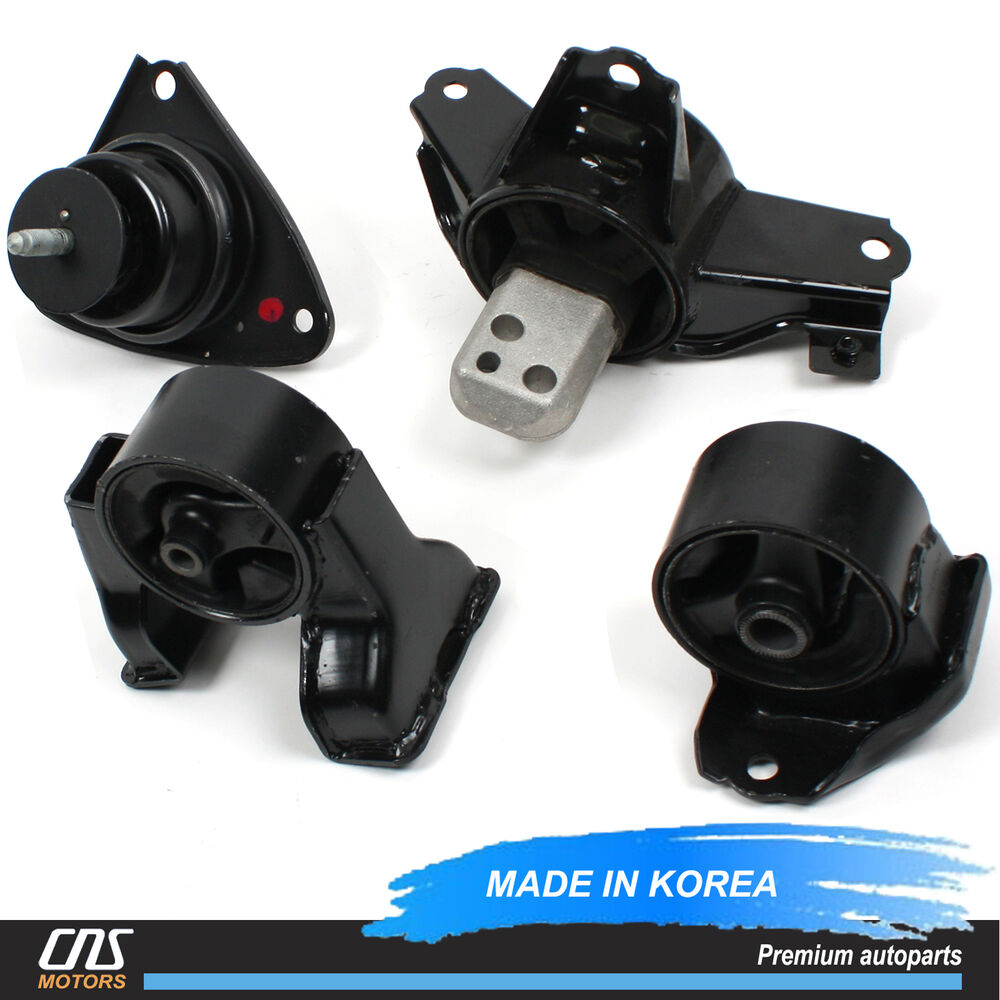 engine motor mount kit manual transmission mt fits 07 12. Black Bedroom Furniture Sets. Home Design Ideas