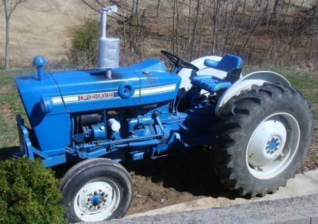 Industrial Ford 2000 Tractor : Ford tractor service manual
