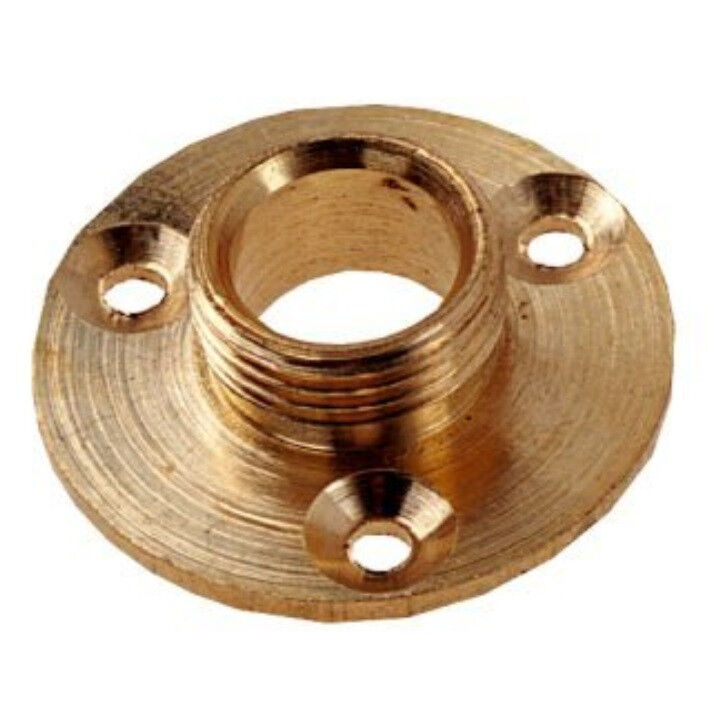1 2 Quot Brass Lamp Backplate For Fitting Lamp Holders To