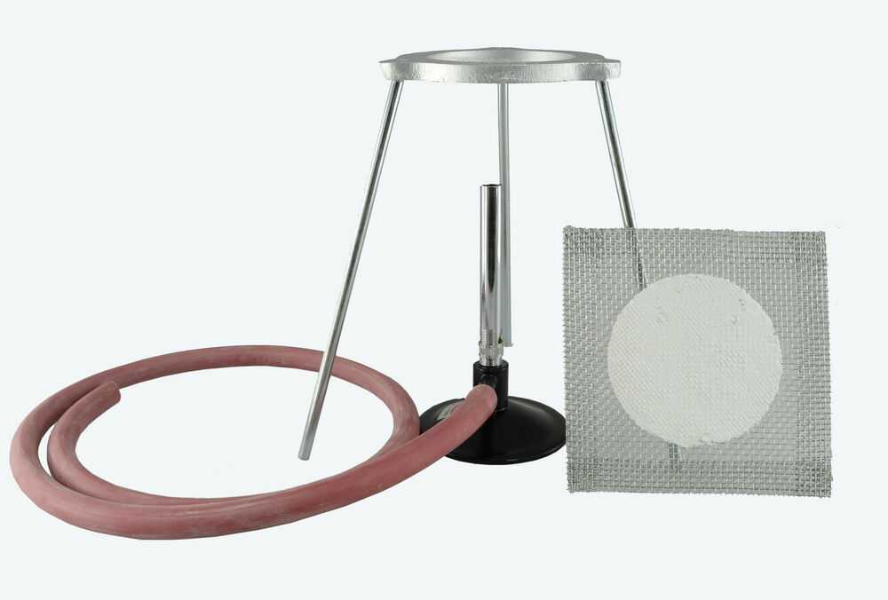 Bunsen Burner Kit With Lpg Bunsen Burner Tripod Gauze