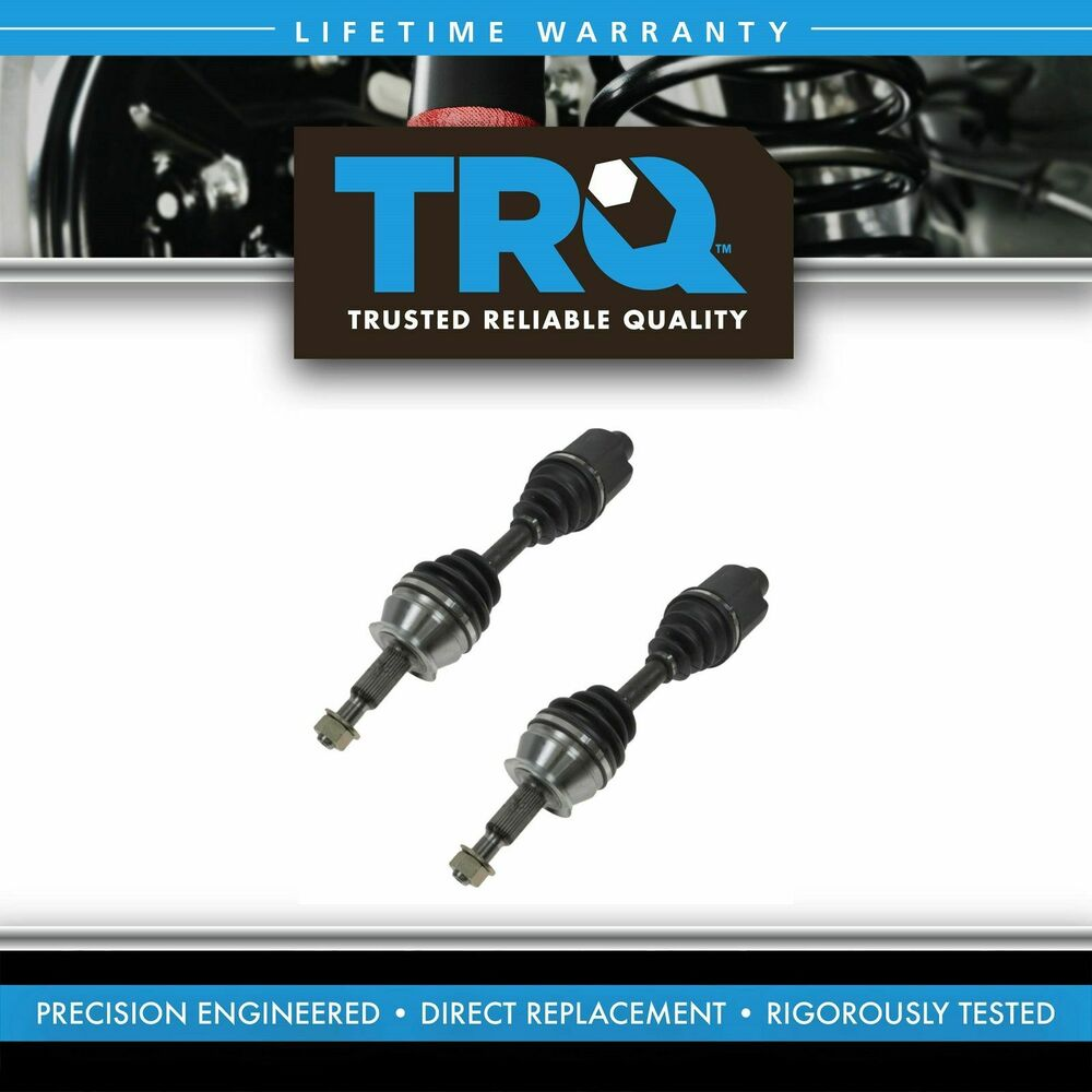 Wagon Front Axle : Front outer cv axle shaft pair set for dodge dakota