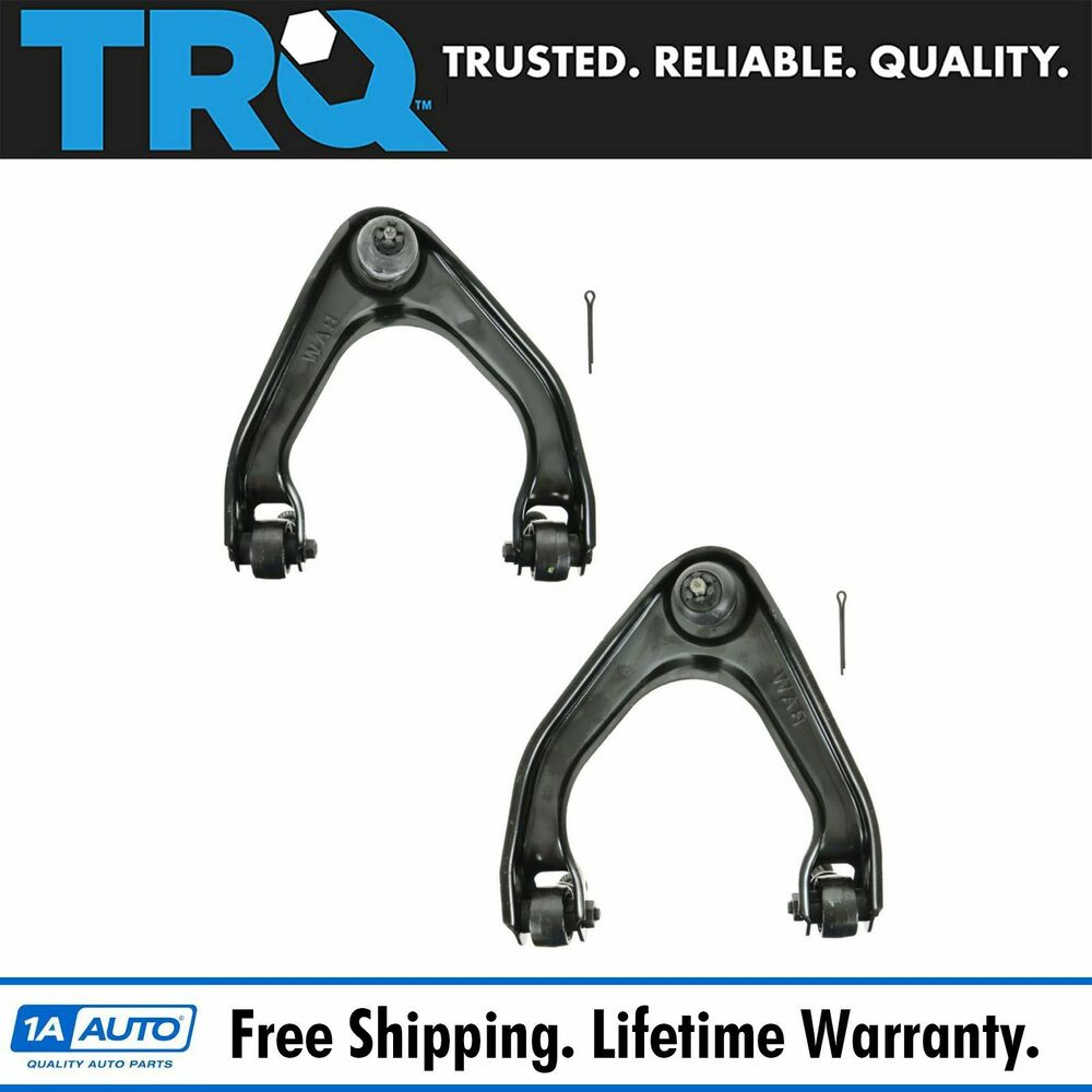 Honda Prelude 1995 2001 Front Lower Control Arm: Front Upper Control Arm & Balljoint Ball Joint Pair Set