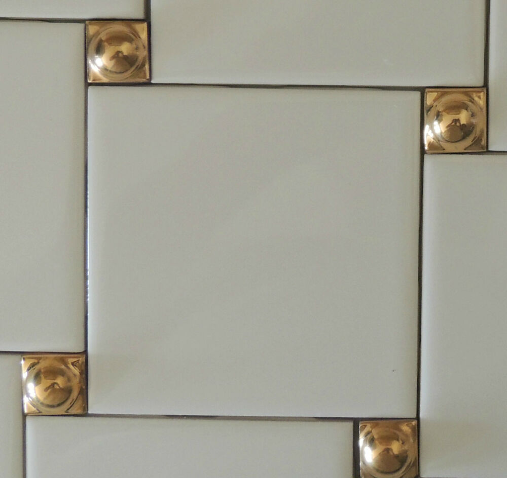 decorative tile inserts kitchen backsplash decorative wall tiles 24k gold inserts 5 kitchen backsplash tile liners ebay 9069