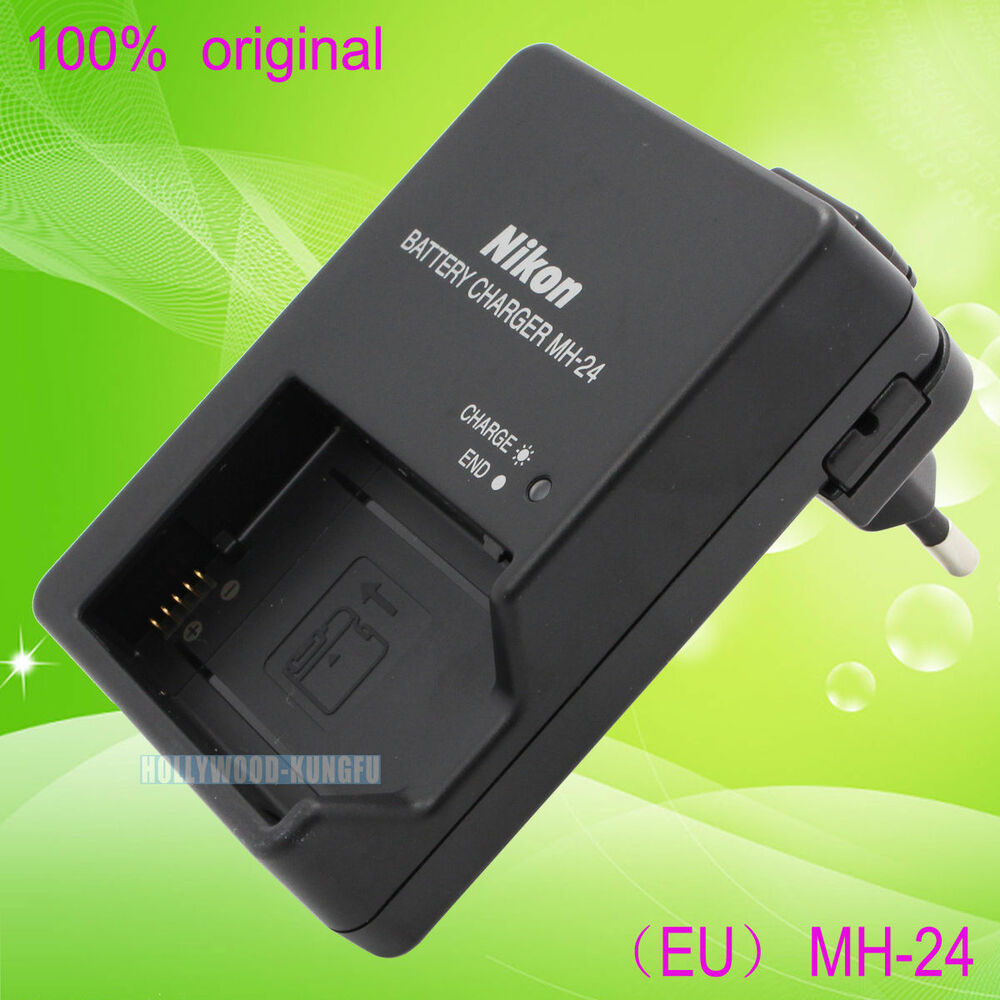 Genuine Original Nikon Mh 24 Battery Charger For Mh 24a En