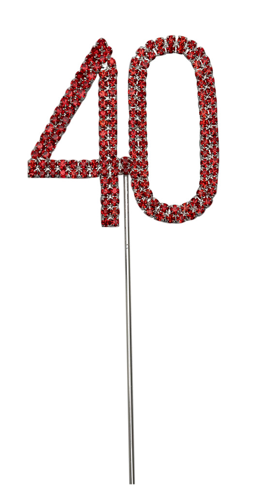 ruby wedding cake decorations uk ruby wedding anniversary cake topper decoration 40th 19446