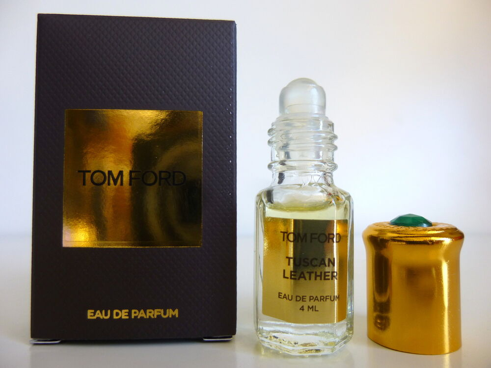 tom ford private blend tuscan leather 4ml roll on ebay. Black Bedroom Furniture Sets. Home Design Ideas