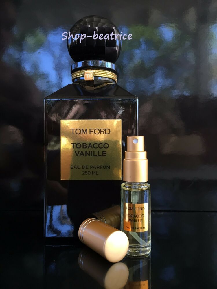 authentic tom ford tobacco vanille 5 ml spray ebay. Black Bedroom Furniture Sets. Home Design Ideas