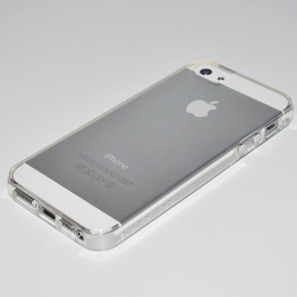 iphone 5s rubber case scratch resistant slim clear silicone new apple iphone 6611