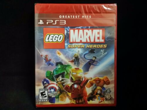 LEGO Marvel Super Heroes [Greatest Hits] (Sony Playstation 3) BRAND NEW