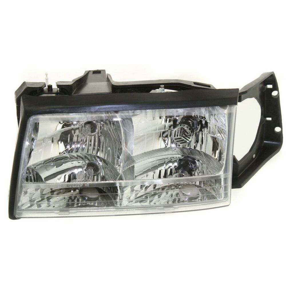 Headlight For 97 99 Cadillac Deville Driver Side W Bulb