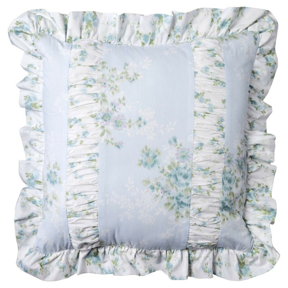 Simply Shabby Chic Pillows : New Simply Shabby Chic Floral Wallpaper Ikat Square Decorative Bed Pillow eBay