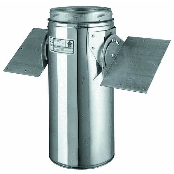 8 Quot Chimney Stove Pipe Stainless Steel Ssii Roof Support A
