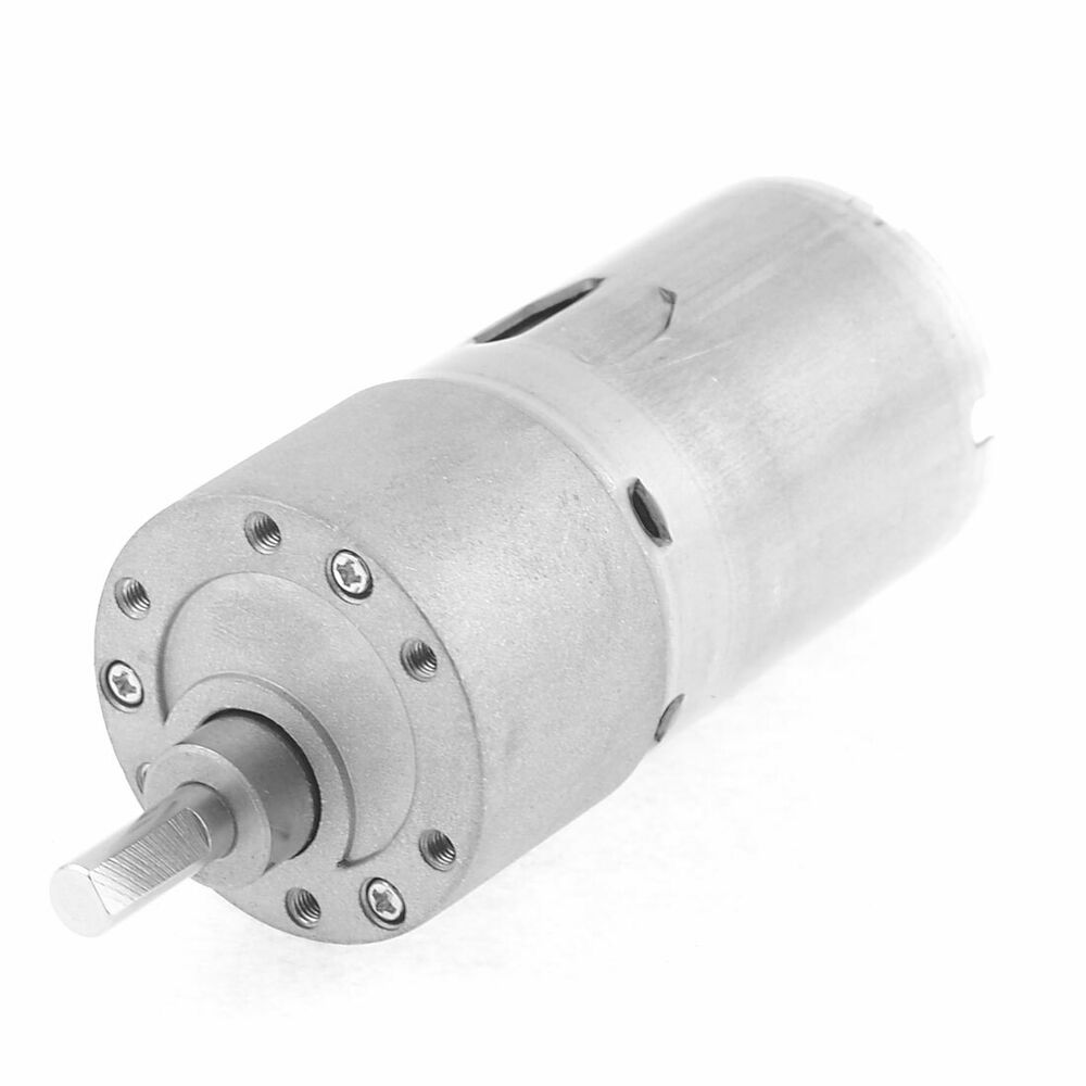 12vdc 15rpm 2 terminals speed reducer magnetic geared for Speed reducers for electric motors