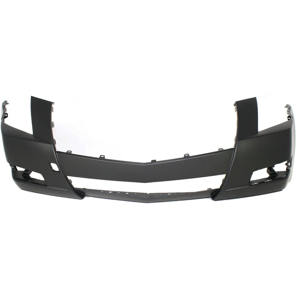 Front Bumper Cover For 2008 2014 Cadillac Cts W Fog Lamp
