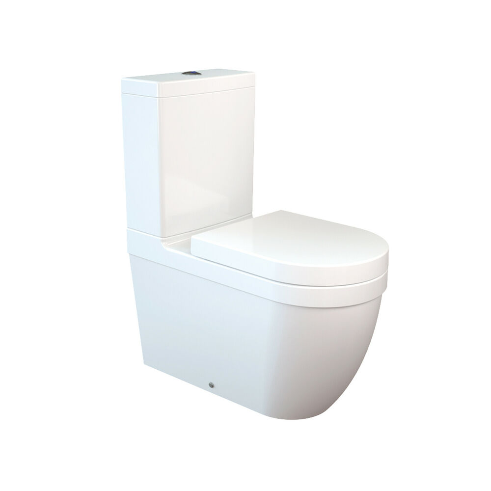 daria all in one combined bidet toilet with soft close seat ebay. Black Bedroom Furniture Sets. Home Design Ideas