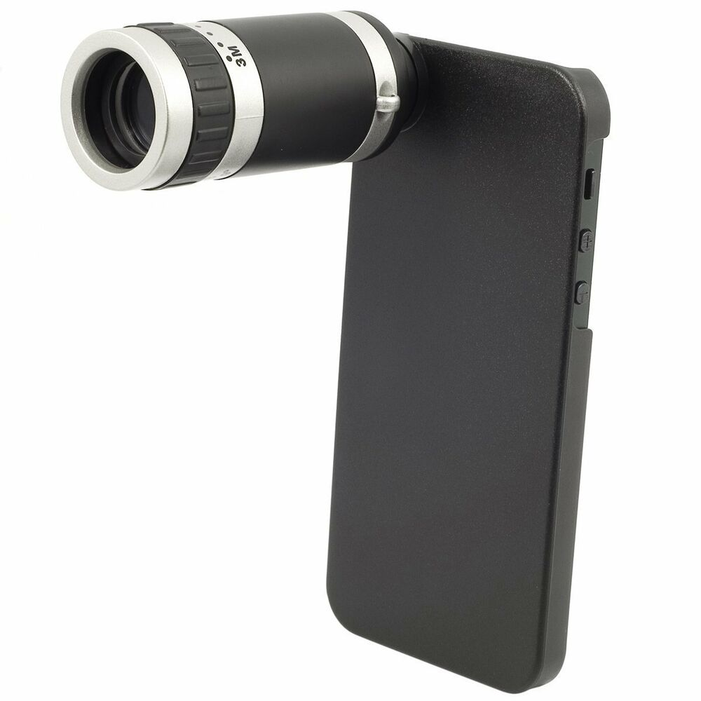 iphone 5 lens 8x optical zoom telescope monocular lens with 11008