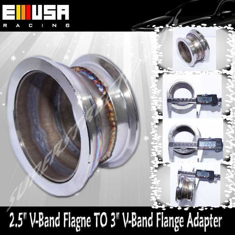 "3"" TO 2.5"" V-Band Adapter Flange turbo charger downpipe ..."