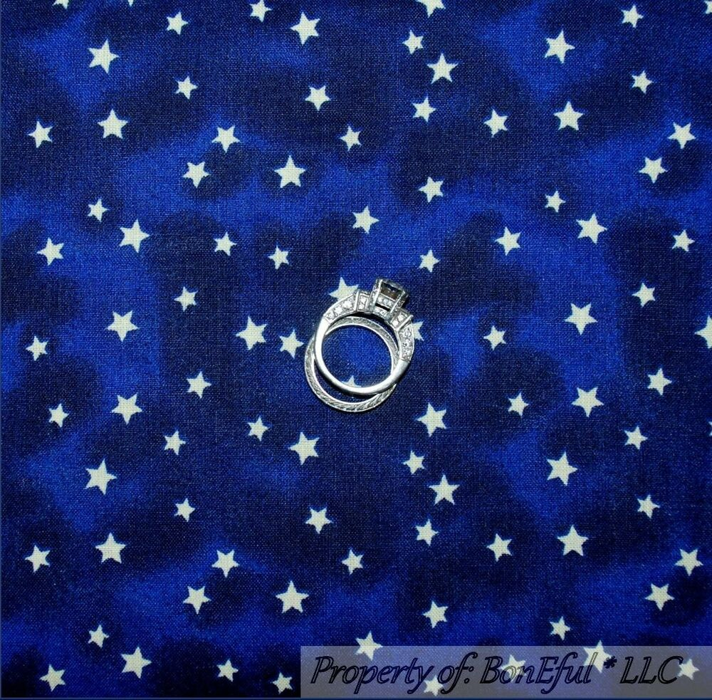 Boneful fabric fq cotton quilt navy blue white night sky for Night sky material