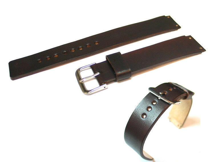 Genuine Leather Watch Strap / Band Replacement for Skagen