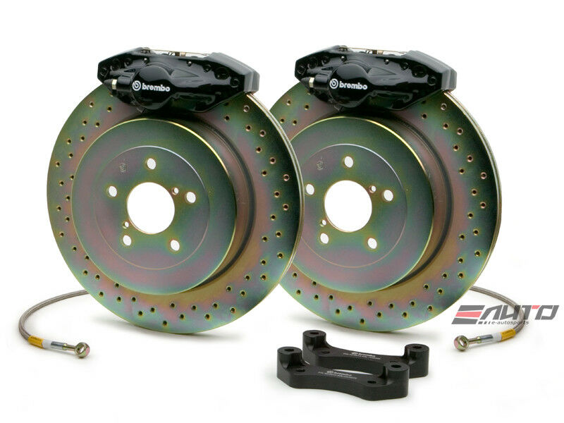 brembo rear gt big brake bbk 2piston black 294x19 drill bmw e36 318 320 325 328 ebay. Black Bedroom Furniture Sets. Home Design Ideas
