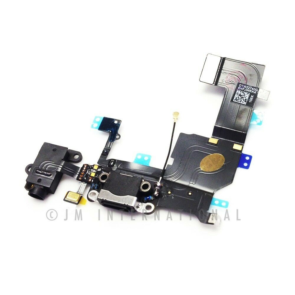 iphone 5 charger port repair iphone 5s black charger charging port dock connector usb 4554