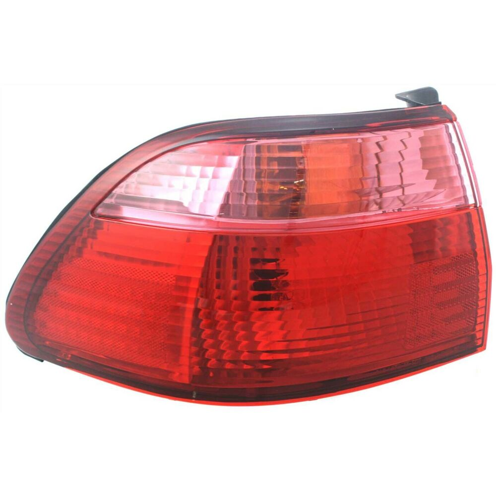 tail light for 98 00 honda accord lh outer sedan ebay. Black Bedroom Furniture Sets. Home Design Ideas